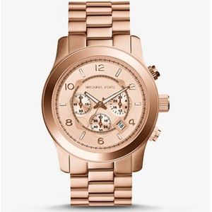 Oversized Runway Rose Gold-Tone Watch